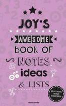 Joy's Awesome Book of Notes, Lists & Ideas