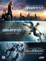DVD cover van The Divergent Series: Divergent/Insurgent/Allegiant