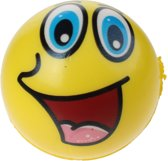 Toi-toys Bal Funy Face 8 Cm Geel