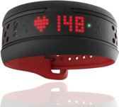 MIO Fuse Hartslag Polsband + Performance Monitor - Red - Large