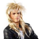 Pruik Johnny Blond