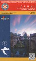 nr 8 Slunj 1:25.000 Wandelkaart Kroatie kaart