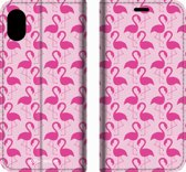 Mobigear Tropical Design Wallet Bookcase Hoesje 3 iPhone Xs Max