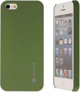 iPhone 5 Hard Case Hoesje - Grove SGP Army Green