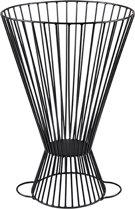 Afrikaanse djembé vuurkorf en kaarsenhouder- Uniek tweezijdig gebruik