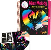 Miss Melody Magic Scratch kleurboek
