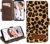 Bouletta - Samsung Galaxy S9 Lederen BookCase (Leopard)