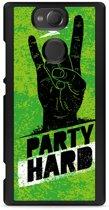 Xperia XA2 Hardcase Hoesje Party Hard 3.0