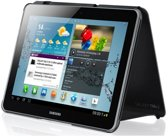 Samsung Book Cover voor Samsung Galaxy Tab 2 10.1 - Donkergrijs