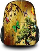 Sleevy Vlinders - Rugzak - Kinderen - Multi colour