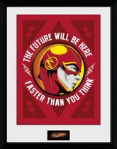 Merchandising THE FLASH - Collector Print 30X40 - The Future