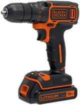 BLACK+DECKER  18V Schroef-/boormachine BDCDC18B - incl. lader en 2 accu's