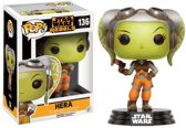 Funko Pop! Star Wars Rebels Hera - #136 Verzamelfiguur
