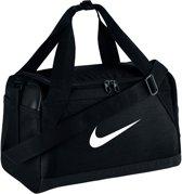 Nike Brasilia XS Duffel Sporttas Unisex - Black/Black/White