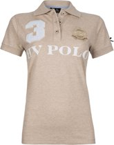 HV Polo Favouritas Eques KM - Polo Shirt - Sand Melange - L