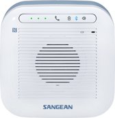 Sangean Waterproof Bluetooth Speaker - H200 3W Blauw, Wit