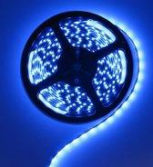 5 Meter - Blauw 12V LED Strip 60LED IP65 SMD3528 (Dit is enkel een LedStrip, geen adapter inbegrepen)