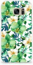 Back Cover Samsung Galaxy S7 Orchidee Groen