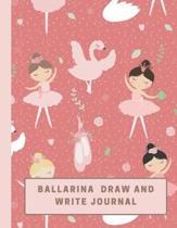 Ballarina Draw and Write Journal