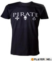 Assassin's Creed Black Flag - Male Crewneck T-Shirt 'Pirate' - S