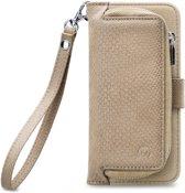 Mobilize 2in1 Gelly Wallet Zipper Case Apple iPhone 6/6S Latte