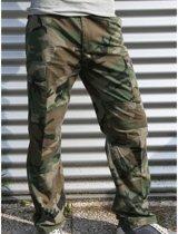 Camouflage broek 100% katoen 3XL