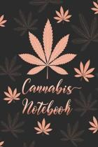 Cannabis Notebook: Cute Pink, Rose Gold, Marijuana Prompt Guided Journal, Including Strength, Strain, Symptom Relief And More For Her - 6