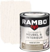 Rambo Pantserbeits Meubel&interieur Mat Warm Wit 0749-0,75 Ltr