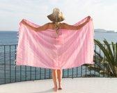 Hamamdoek Strandlaken Saunadoek Roze - Classic Pink