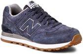 New Balance ML574FSN, Mannen, Blauw, Sportschoenen maat: 40.5 EU