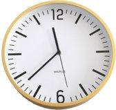 Walplus Wandklok Hygge Time - Hout 25 cm
