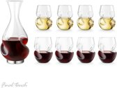 Final Touch Conundrum Bonus Set Decanter en 8 wijnglazen