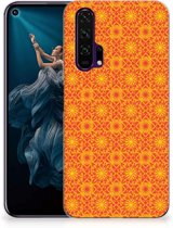 Honor 20 Pro TPU bumper Batik Orange