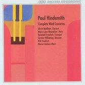 Hindemith: Complete Wind Concertos / Albert, RSO Frankfurt