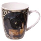 Lisa Parker Heksenuur Porseleinen Mok met kat