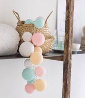 Cotton Ball Lights Lichtslinger Premium Lovely Sweets – 20 Cotton Balls – Pastel