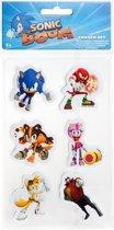 Gosh! Designs Gumset Sonic Boom Karakters 6-delig