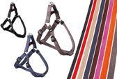 Flamingo Hondentuig Sportief Plus Step&Go Rood - 1 X20-35 cm