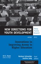 Innovations in Improving Access to Higher Education