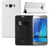 Samsung Galaxy J5 2016 Hoesje Wit met Standaardfunctie
