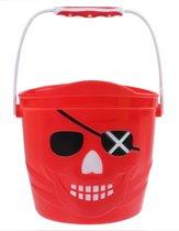 Yello Emmer Piraat 14 X 14,5 Cm Rood