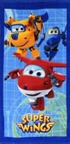 Super Wings World - Strandlaken - 70 x 140 cm - Multi