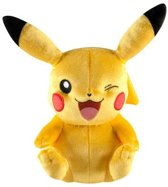 Pokemon Detective pikachu met knipoog pluche knuffel limited edition in luxe verpakking