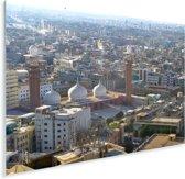 Zonnige dag in Karachi Plexiglas 160x120 cm - Foto print op Glas (Plexiglas wanddecoratie) XXL / Groot formaat!