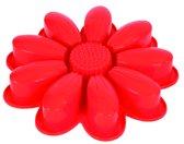 PavonIdea Bloemvorm - Siliconen - 24 x 4,9cm - Rood