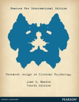 Research Design in Clinical Psychology: Pearson  International Edition
