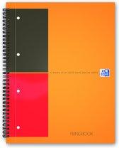 Oxford International Filingbook - A4+ notitieboek - A4+ - gelijnd - 200 bladzijden