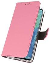 Wicked Narwal | Wallet Cases Hoesje voor Huawei Mate 20 X Roze