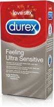 Durex Feeling Ultra Sensitive - 72 stuks - Condooms