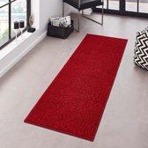 Loper Pure 80x400cm Rood Hanse Home